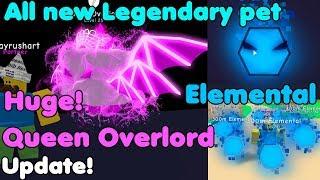 Update! New Queen Overlord! Got All New Legendary Pets! 300M - Bubble Gum Simulator