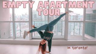 EMPTY TORONTO APARTMENT TOUR (moving day!)