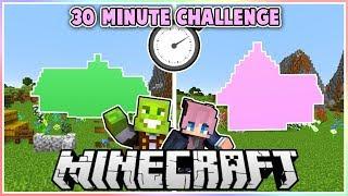 Minecraft Survival Building Challenge with LDShadowlady!