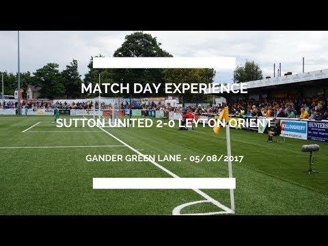 Sutton United vs Leyton Orient