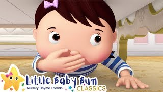 The Hide and Seek Song + More Nursery Rhymes & Kids Songs - ABCs and 123s | Little Baby Bum