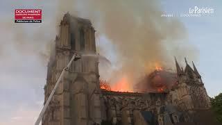 Notre-Dame en feu : au coeur du brasier avec les pompiers
