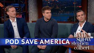 A Yogurt Metaphor For 2020 With 'Pod Save America'