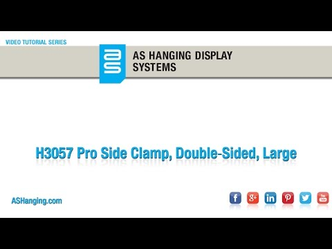 Pro Side Clamp, Double‐Sided, Large