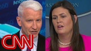 Anderson Cooper calls out Sarah Sanders' op-ed defense
