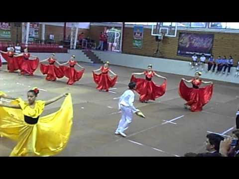 Baile La Pollera Colorá Liceo A-119 Talagante