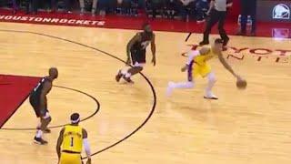 Kyle Kuzma IMPOSSIBLE THREE, Turns Into Kobe Bryant! Lakers vs Rockets