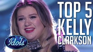 Top 5 Kelly Clarkson Performances On American Idol 🗽🇺🇸