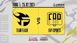 Team Flash vs Fap Esports - Vòng 1 ngày 1 [25.02.2021] | ĐTDV mùa Xuân 2021