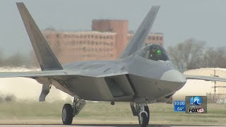 Up to 800 airman could come to Hampton Roads with additional F-22 squadron