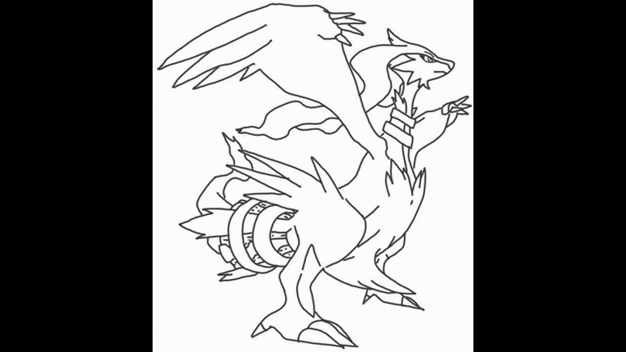 zekrom ex coloring pages - photo#11
