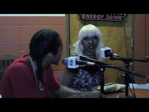 Burn1 Session - Ghetto Celebz Interview with Carolina Flame & DJ King D