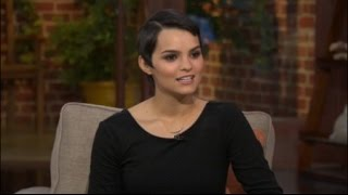 Actress Brianna Hildebrand from the hit movie 'Deadpool'
