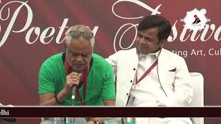 Piyush Mishra , Rajpal Yadav & Sanjay Mishra with Ritul Joshi at Jashn-e-Adab 2017