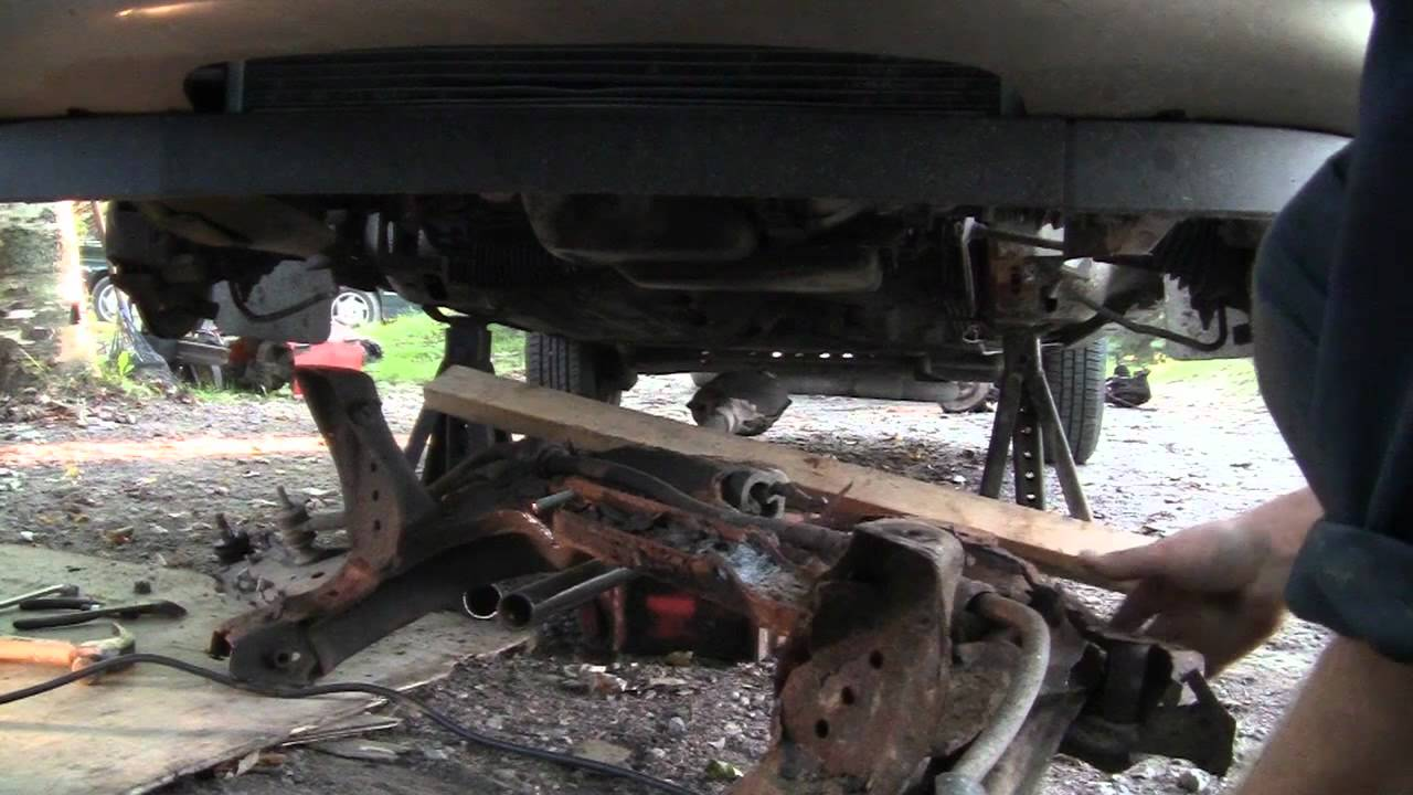 how to replace transmission lines