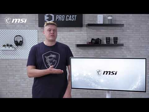 video MSI Prestige PS341WU