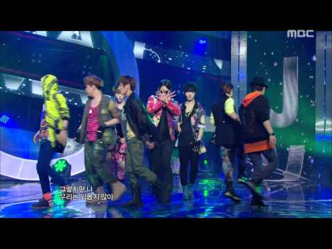 Super Junior - Superman, 슈퍼주니어 - 슈퍼맨, Music Core 20110806