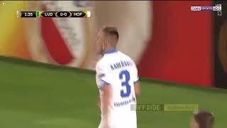 اهداف مباراة هوفنهايم ولودوجوريتس1-2 في الدوري الاوربي 2017/9/28 ...
