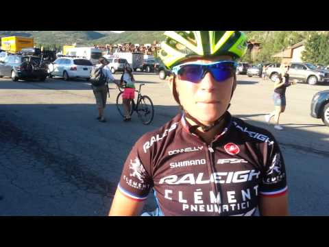 Caroline Mani Interview - Winning 2013 Raleigh Midsummer Night's Cyclocross Race