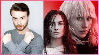 CHRISTINA AGUILERA - Fall In Line (Lyric Video) ft. Demi Lovato [REACTION]