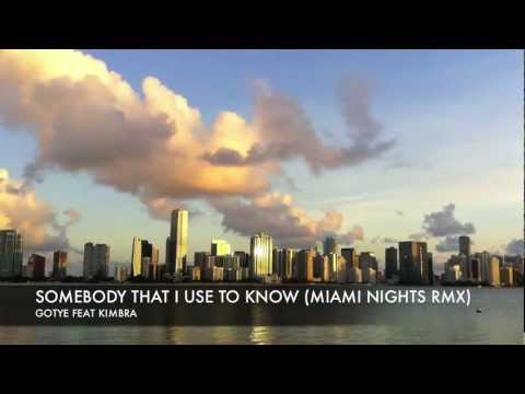 Somebody That I Used To Know (Miami Nights 1984 Remix)