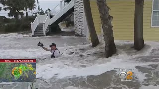 Hurricane Florence Pummels The Carolinas As Millions Seek Safety
