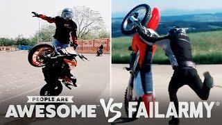 Motorcycle Wheelies & More Wins VS. Fails | PAA Vs. FailArmy
