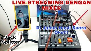 Cara Live Streaming Menggunakan Mixer | Cara Sett Buat Live Stream