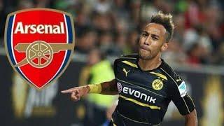 Aubameyang 2018 · Welcome Arsenal · Skills, Goals and dribbling | Football BR