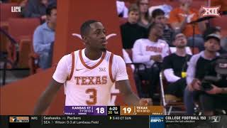Kansas State at Texas Men's Basketball Highlights