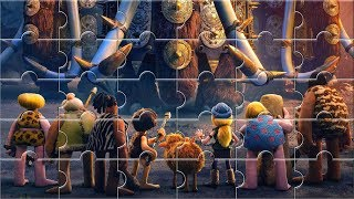 Early Man Jigsaw puzzle game for Kids - Baby puzzle show