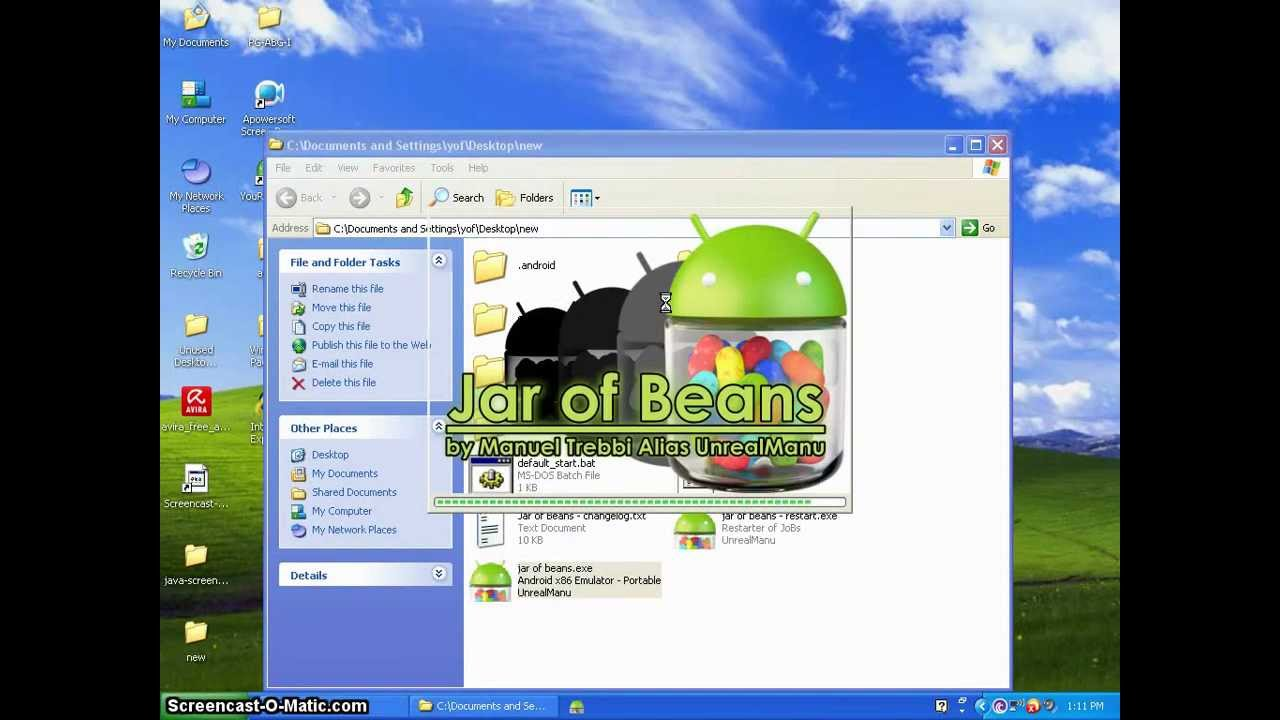 jar+of+beans+android+emulator+download