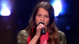 THE VOICE KIDS: Auditioning with a coach's song