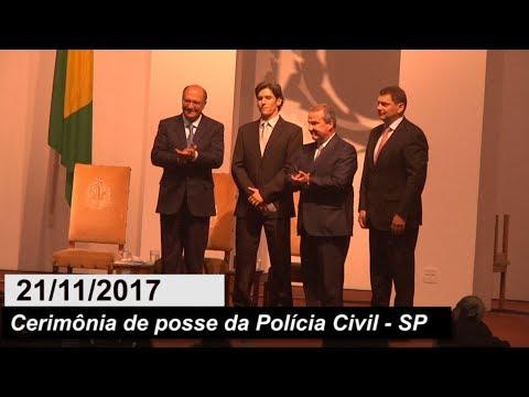 CERIMÔNIA DE POSSE DA POLÍCIA CIVIL - SP - 21/11/2017