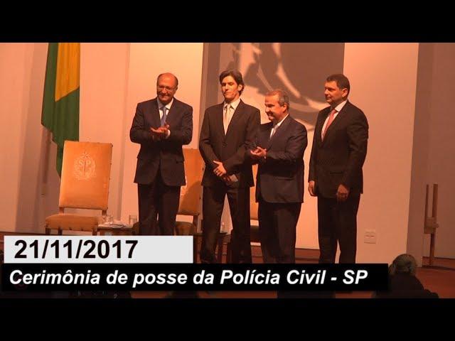 [CERIMÔNIA DE POSSE DA POLÍCIA CIVIL - SP - 21/11/2017]