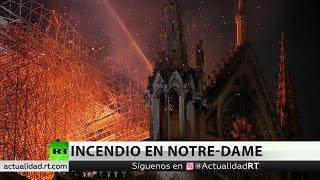 La catedral de Notre Dame ha sufrido graves daños estructurales