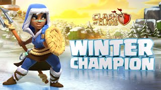 Stay Cool With the Royal Champion's First Skin! (Clash of Clans Season Challenges)