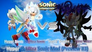 Sonic Generations Mod Part 187_ (HERO VS VILLAIN) Ultra Instinct