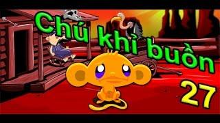 Game chú khỉ buồn 27 - Monkey GO Happy Games | Game 24H