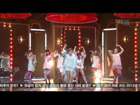 소녀시대 태티서(tts) - Twinkle 무대mix