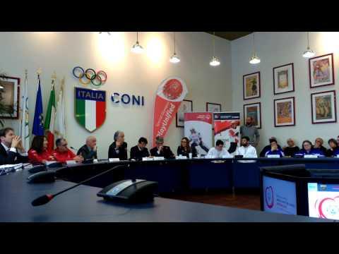 Giovanni Malagò (Coni) presenta gli Special Olympics 2017