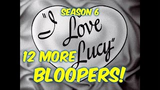 """12 """"I Love Lucy"""" Bloopers You PROBABLY Did NOT Notice!!--Season 6"""