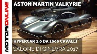Aston Martin Valkyrie | Salone di Ginevra 2017