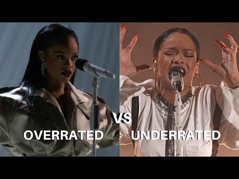Rihanna - Overrated vs Underrated Performances *read description*