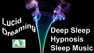8 Hour Dark Smoke Deep Sleep Hypnosis Lucid Dreaming- Insomnia Relief, Stress Relief Ambient Music