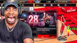PERFECT 3PT CONTEST SCORE & BALLER PACK OPENING! NBA Live Mobile 16 Gameplay Ep. 108