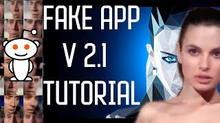 Fakeapp 2.1 Tutorial |Face swapping using ML and AI !!deepfakes tutorial