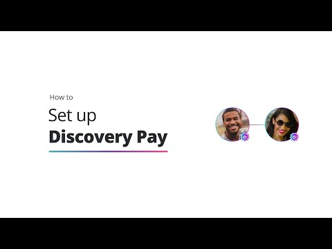 How to set up Discovery Pay