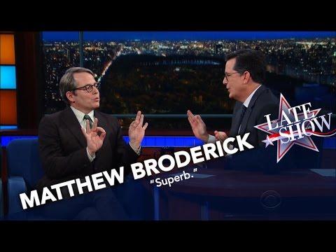 Matthew Broderick Nails His Donald Trump Impression