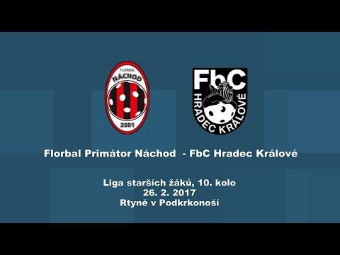 starší žáci, Náchod - Fbc Hradec Králové